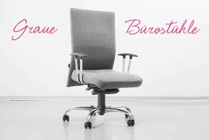 Bürostühle Grau