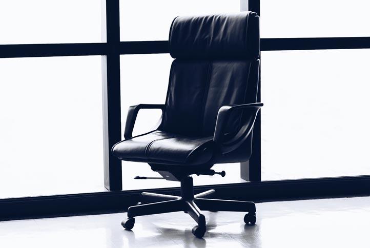 Bürostühle Leder - Leder Chefsessel Schwarz