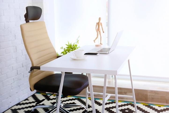 Bürostühle mit Kopfstütze
